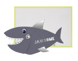 """Jawsome"" Shark, Mini Card"