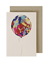 Confetti Balloon, Mini Card