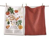 Burrata Salad Dish Towel Set/2