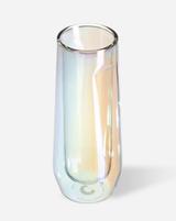 Corkcicle Prism Glass Stemless Flute, set/2