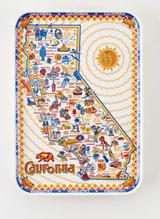 California Melamine Tray