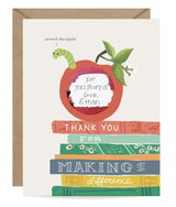 Bookworm Scratch-Off Card