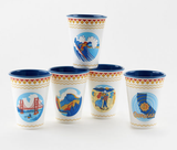 California Cup, Melamine set 4