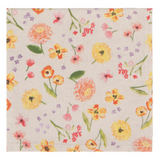 Cottage Floral, Linen Mix Napkins, set/4