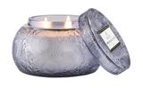 Voluspa Apple Blue Clover, Glass Chawan Bowl Candle