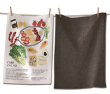 Cobb Salad Dish Towel Set/2