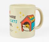 """""""Home is Where the Cats Are"""" Mug"""