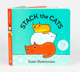 Stack the Cats, Board Book