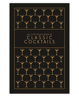 """""""The Little Black Book of Classic Cocktails,"""" Hardback Book"""
