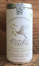 Flying Bird Botanicals Matcha Tin
