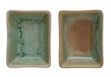 Rectangular Stoneware Dish with Reactive Dish--CHOOSE COLOR