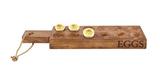 Wooden Deviled Eggs Tray