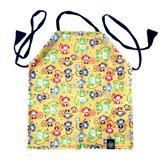 Splash Fabric Kid's Apron: Monkeys (Yellow)