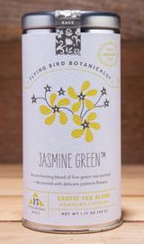 Flying Bird Botanicals: Jasmine Green, 6 bags