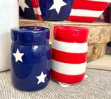 Stars & Stripes Salt & Pepper Shakers