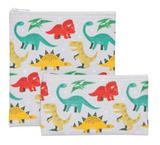 Dandy Dinos, Reuseable Snack Bag, set/2