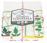 Get Growing Floursack Towels, set/3