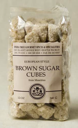 Brown Sugar Cubes, 12 oz chef pak