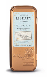 Paddywax Travel Library Candle, Charlotte Bronte
