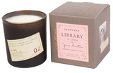Paddywax Library Candle, Jane Austen, 6.5oz