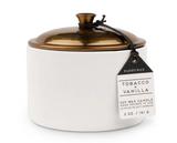 Paddywax Hygge, 5oz Ceramic Candle: Tobacco + Vanilla