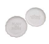 Home Ruffled Platter--CHOOSE DESIGN