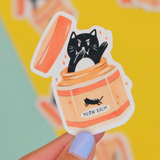 """Meow Balm"" Sticker"