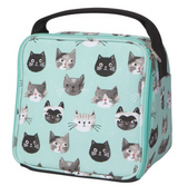 Cats Meow Insulated Lunch Box