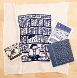 Books - Flour Sack Towel