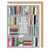 Book Shelf Birthday Card