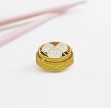 Steamed Bao Enamel Pin