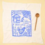Grow Local - Flour Sack Towel