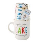 """""""I Wish..."""" Mug Cake Set, Mug + Tea Towel"""