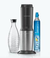SodaStream Premium Aqua Fizz Water Carbonator, Black