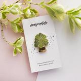 Fiddle-Leaf Fig Enamel Pin