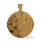 "Round Eucalyptus Bamboo Board, 12.25"" diameter"