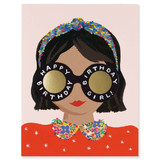 Headband Birthday Girl, Rifle Paper Co. Blank Greeting Card