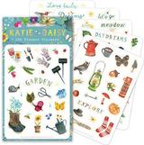 "Katie Daisy ""Garden""/Seasons, 140 Planner Stickers"