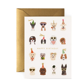 Party Pup Birthday, Rifle Paper Co. Blank Greeting Card