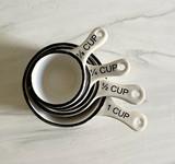 Stoneware Measuring Cups, set/4