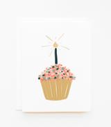 Cupcake, Blank Greeting Card