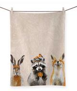 Thankful Raccoon & Friends: Tea Towel