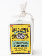 Old School Mill White Corn Meal, 16oz