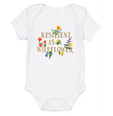 Resilient as a Wildflower Onesie-CHOOSE SIZE