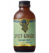 Spicy Ginger Syrup, Mini: Cocktail & Soda Syrup, 100ml