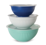 6-piece Covered Bowl Set