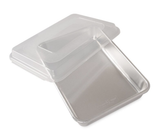 "Naturals Rectangular Cake Pan with Lid, 12"" x 9"""
