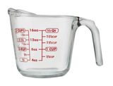 Oven Proof Glass Measuring Jug