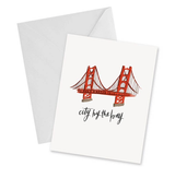 San Francisco, blank greeting card, 2 versions
