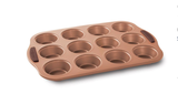 Copper Muffin Pan 12 Cup
